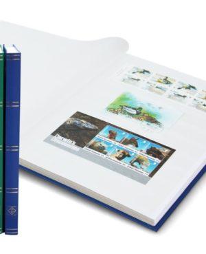 L 4/16 bélyegberakó 16 lap/32 oldal, fehér lapos