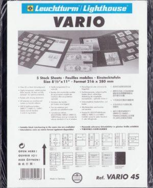 VARIO 4S  – tokok