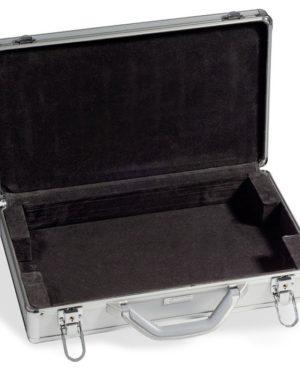 KO 3 LEER –  Alumínium érmetartó börőnd 6 érme táblához (üres)