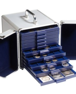MBS KOF 10 – Alumínium érmetartó bőrönd