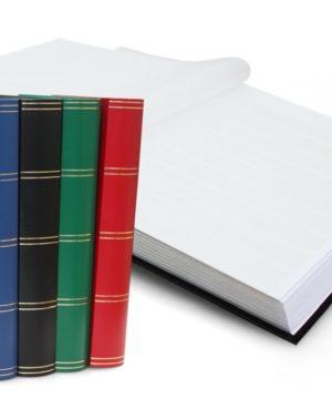 L 4/32 bélyegberakó 32 lap/64 oldal, fehér lapos
