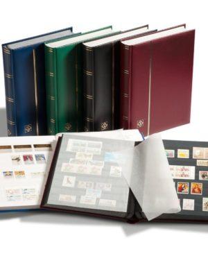 LP 4/32 bélyegberakó 32 lap/64 oldal, fehér lapos