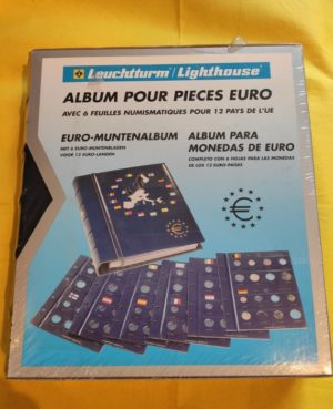 CLAS EURO BL – VISTA euró-érmealbum 1. kötet