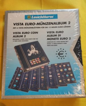 CLAS EURO BL 1-2 – VISTA euró-érmealbum