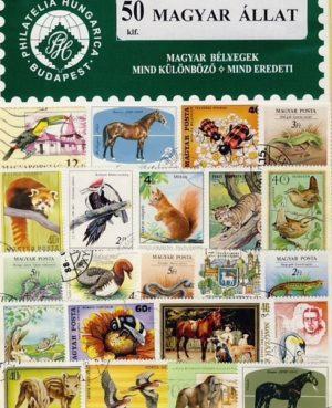 Magyarország – Állat – 50 klf. bélyeg