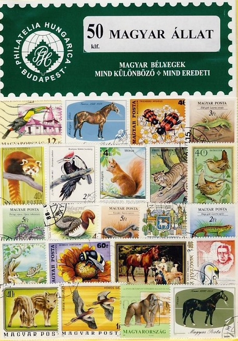 Magyarország - Állat - 50 klf. bélyeg