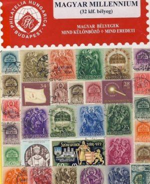 Magyarország – Millennium – 32 klf. bélyeg