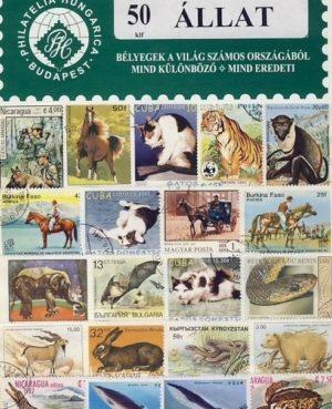 Állat – 50 klf. bélyeg