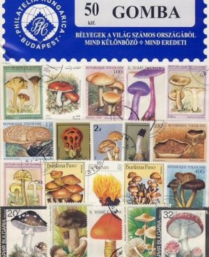 Gomba – 50 klf. bélyeg
