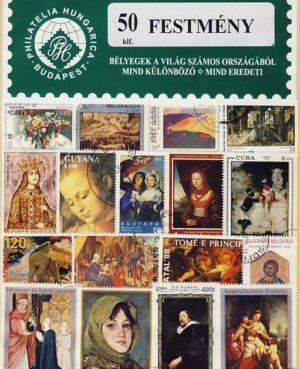 Festmény – 50 klf. bélyeg