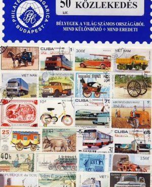 Közlekedés – 50 klf. bélyeg
