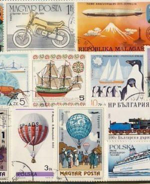 Közlekedés – 155 klf. bélyeg