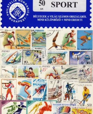 Sport – 50 klf. bélyeg