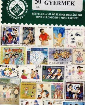 Gyermek – 50 klf. bélyeg