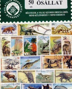 Őslények – 50 klf. bélyeg