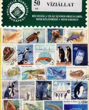 Víziállat – 50 klf. bélyeg