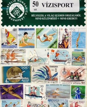 Vízisport – 50 klf. bélyeg