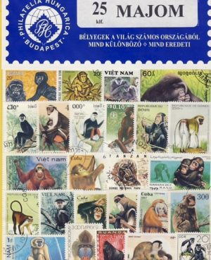 Majom – 25 klf. bélyeg