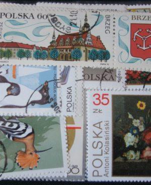 Lengyelország – 100 klf. motívum és képes bélyeg