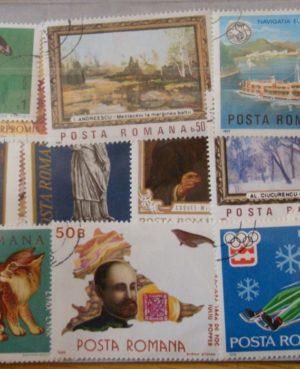 Románia – 100 klf. bélyeg