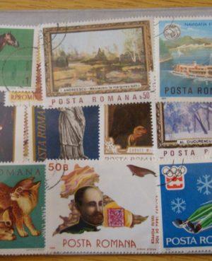 Románia – 500 klf. bélyeg