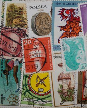 Világ – 300 klf. képes bélyeg