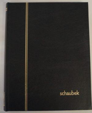 E 5020 Bélyegberakó 16 lap/32 oldal, fehér lapos (osztatlan)