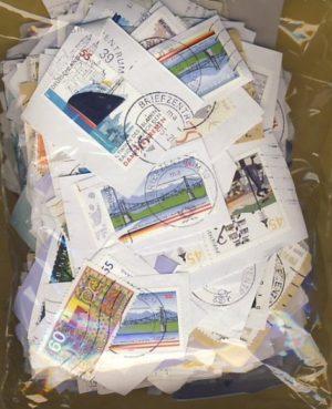 Ausztrália forgalmi és emlék bélyegek papíron – 0,20 kg kilóáru