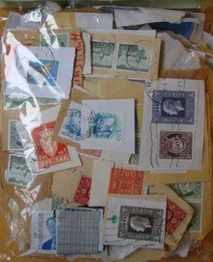 Norvégia –  forgalmi bélyegek papíron – 0,20 kg kilóáru