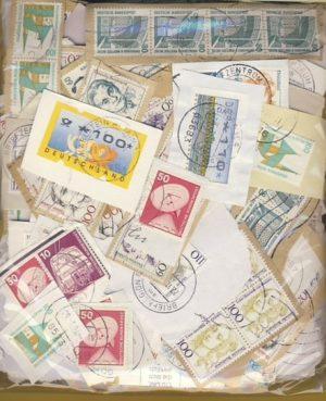Németország – forgalmi bélyegek papíron – 0,20 kg kilóáru