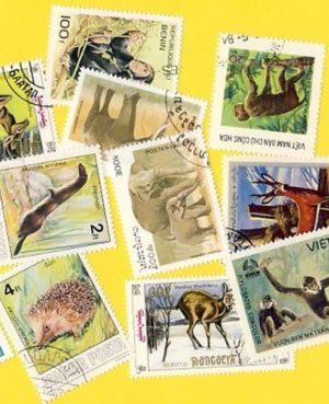 Állat (csak vad) – 25 klf. bélyeg
