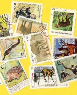 Állat (csak vad) – 200 klf. bélyeg