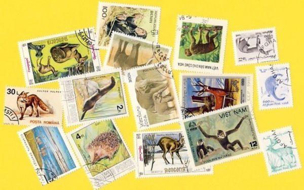 Állat (csak vad) - 200 klf. bélyeg
