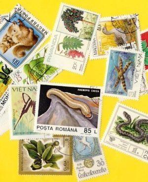 Növény és állatvilág – 25 klf. bélyeg