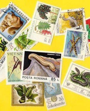 Növény és állatvilág – 200 klf. bélyeg