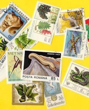 Növény és állatvilág – 400klf. bélyeg
