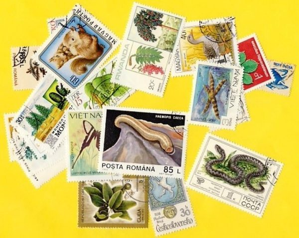 Növény és állatvilág - 400klf. bélyeg