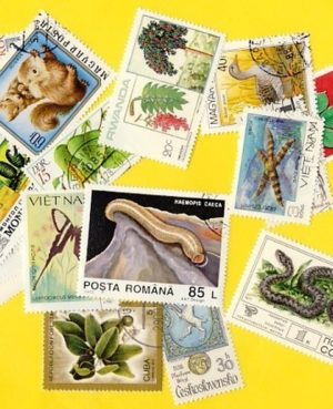 Növény és állatvilág – 600 klf. bélyeg