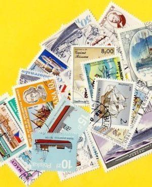 Hajó és csónak – 100 klf. bélyeg