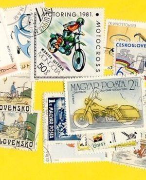 Kerékpár és motorkerékpár – 25 klf. bélyeg