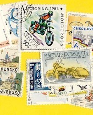 Kerékpár és motorkerékpár – 50 klf. bélyeg