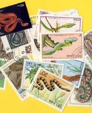 Kígyók – 25 klf. bélyeg