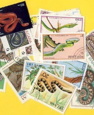 Kígyók – 35 klf. bélyeg