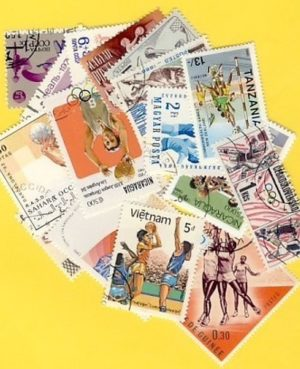 Kosárlabda – 10 klf. bélyeg