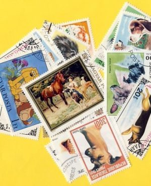 Kutya – 100 klf. bélyeg