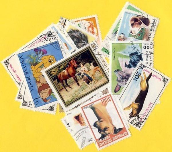 Kutya - 100 klf. bélyeg