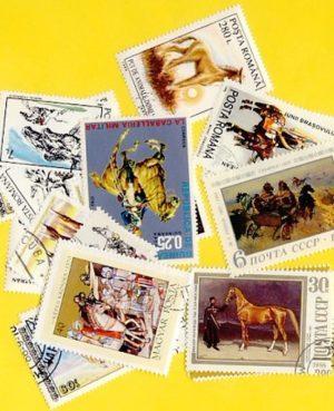 Ló – 25 klf. bélyeg