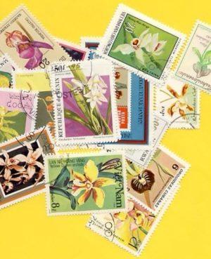 Orchidea – 50 klf. bélyeg
