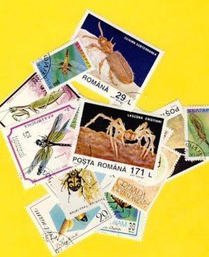 Rovar és pók – 100 klf. bélyeg