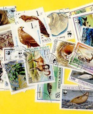 Veszélyeztetett növény- és állatfajok – 25 klf. bélyeg